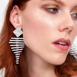 Zara Large Jewel Earrings